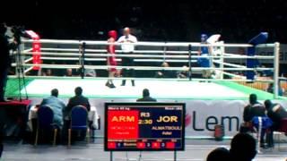 preview picture of video 'ARMENIA, YEREVAN 2012 YOUTH BOX WORLD CHEMPIONSHIPS ARMENIA vs Jordan, HENRIK MOKOYAN 52kg 2-3 Round'