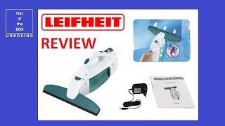 REVIEW Leifheit Window Vacuum Cleaner (Streak-Free Drying)