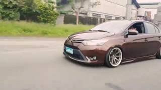 Brown Vios Stance 3rd Gen fitment by: Classical Works