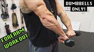Intense 5 Minute Dumbbell Forearm Workout #2 by Anabolic Aliens