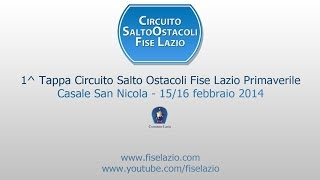 preview picture of video '1^ Tappa Circuito Salto Ostacoli Primaverile Fise Lazio 2014'