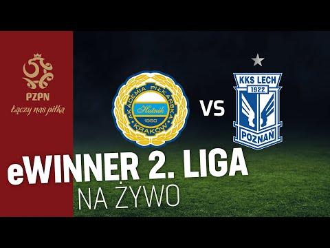 2 liga na żywo: Hutnik Kraków - Lech II Poznań [TRANSMISJA WIDEO]