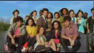 """Selena Gomez, Demi Lovato, Miley Cyrus & The Jonas Brothers - Send It On (from """"Friends for Change"""")"""