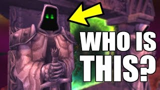 WoW - Who Is The Hooded Figure At The Dark Portal?