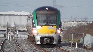 Irish Rail 22000 Class Intercity Train 22332 - Clondalkin & Fonthill Station