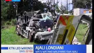 Watu watano wafariki katika ajali ya barabara Londiani