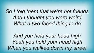 Josh Rouse - Middle School Frown Lyrics