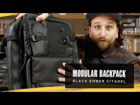 Black Ember Citadel & Modular Backpack