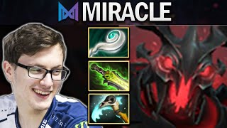 NIGMA.MIRACLE SHADOW FIEND - ROAD TO RANK 1 - DOTA 2 7.26 GAMEPLAY