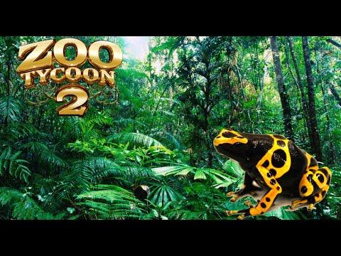 Zoo Tycoon 2: Golden Dart Frog Exhibit Speed Build