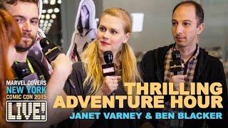 The Creators of Thrilling Adventure Hour on Marvel LIVE!