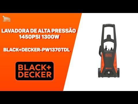 Lavadora de Alta Pressão 1450PSI 1300W   - Video