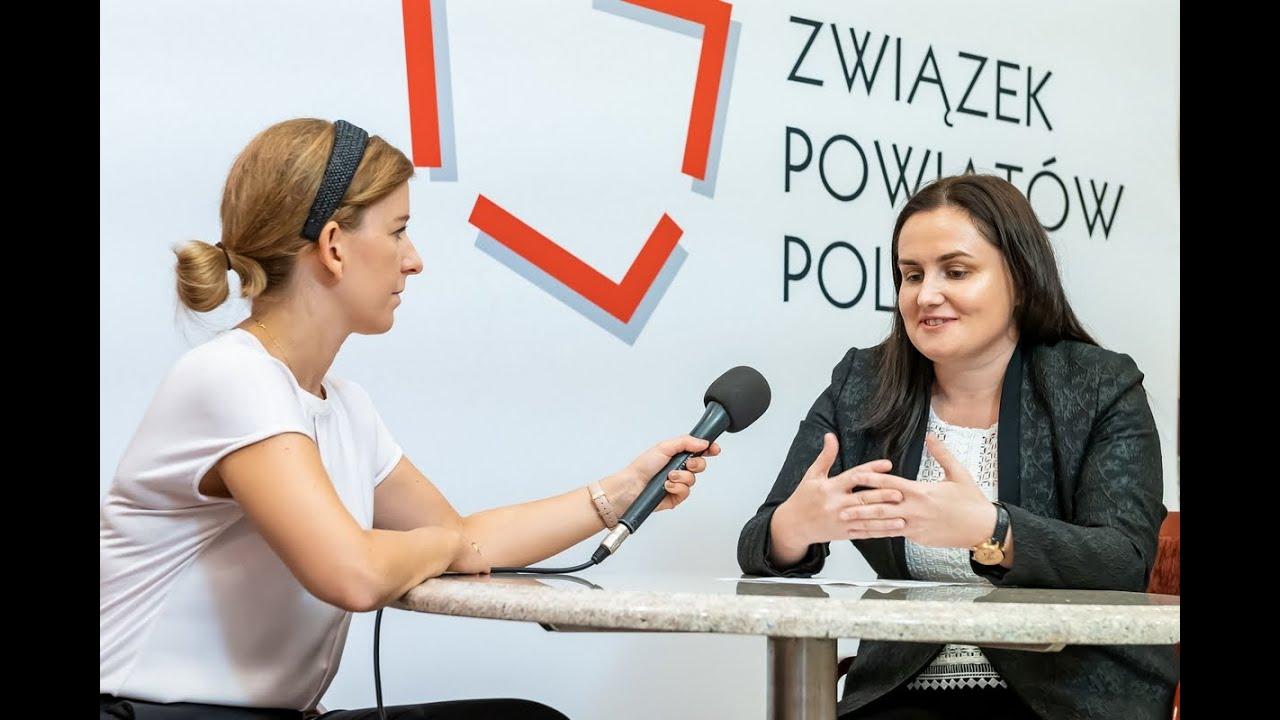 Wywiad TV z Bernadetą Skóbel na temat zmian w sektorze szpitalnictwa powiatowego