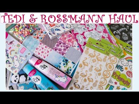[Haul] TEDI & ROSSMANN (Sticker, Papier...)