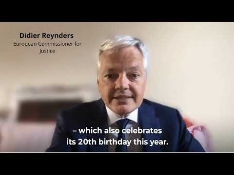 European Commissioner for Justice Didier Reynders - Message Europe Day 2020 Online Campaign