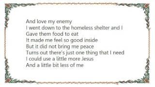 Chris August - A Little More Jesus Lyrics