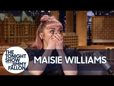 Мейзи Уилямс: Аря Старк умира във втори епизод (ВИДЕО)