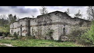 nazistowska świątynia Totenburg mauzoleum w Wałbrzychu w ruinie