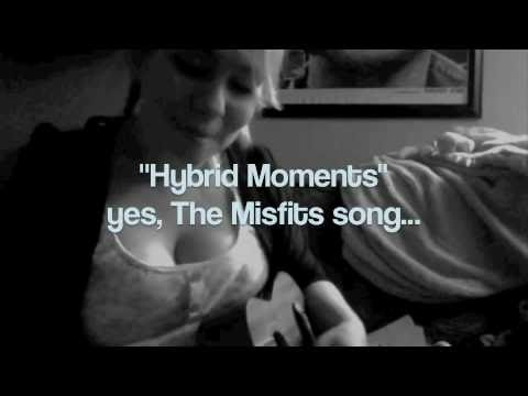 "Cait Black: The Misfits ""Hybrid Moments"" a la uke!"