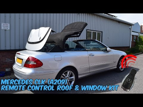Mercedes CLK A209 Cabriolet Remote Roof Open & Close Kit