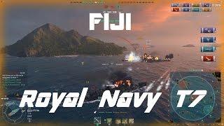 Royal Navy T7: Fabulous Fiji [160k damage]