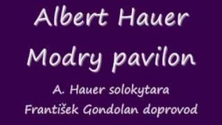 Albert Hauer Modrý pavilon