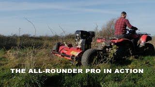 FM120 ATV Flail Mower Shredder - Самые лучшие видео