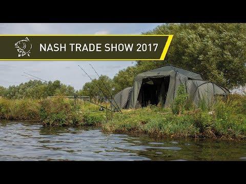 NEW NASH CARP FISHING PRODUCTS! NASH TRADE SHOW 2017!