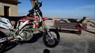 De L'Enduro Au Supermotard ! - Honda 250 Crf-X