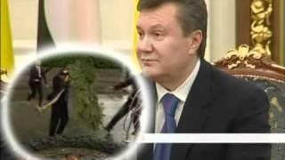 """Янукович - елка. Студія """"МАГАРИЧ"""""""