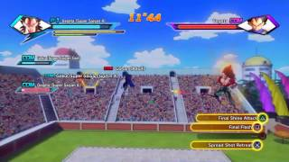 2nd World Tournament Tag Team Z-Rank ( Xenoverse Parallel Quest 29 Ultimate finish)