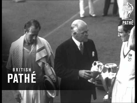 Perry Wins Us Title - Tennis (1934)