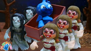 Tiny Leads His Coffin Dance to The Grave - Stop Motion Animation Short Film