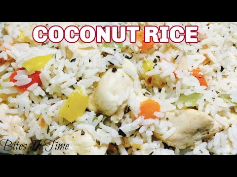 Coconut Rice Recipe – How to Cook Coconut Rice With Coconut Milk