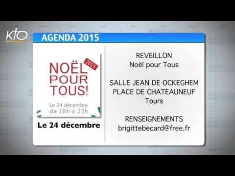 Agenda du 21 décembre 2015