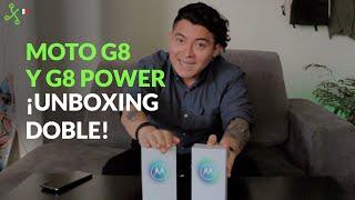 Moto G8 y G8 Power UNBOXING en México: regresa la GAMA MEDIA de Motorola
