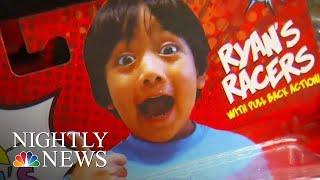 Meet The Kid Millionaire Behind Ryan's World Toy Empire (Exclusive Interview)   NBC Nightly News