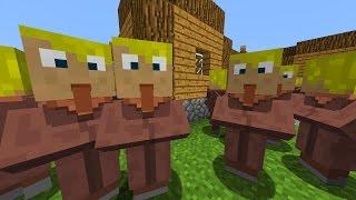Minecraft Commands Minecraft Command Block Mega Dorf Generator - Minecraft haus bauen mit command