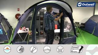 Outwell Rockwell 5 Tent - 2016 | Innovative Family Camping