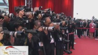 Festival de Monte Carlo Closing Ceremony 2011 - Matthew Gray Gubler et Thomas Gibson