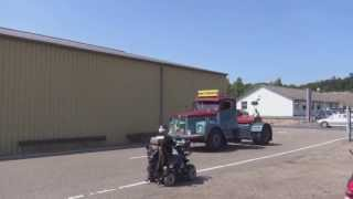 preview picture of video 'Real Trucks (Silkeborg veteran rally 2013 the real Veterans)'