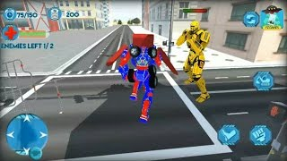 Excavator Transformer Robot - Android GamePlay HD