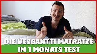 Vesgantti MATRATZE (Taschenfederkern) im TEST - ES geht auch GUT und GÜNSTIG