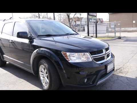2017 DODGE JOURNEY WITH 17 INCH CHROME RIMS & TIRES