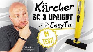 Kärcher Dampfreiniger SC 3 Upright Easyfix Test ► Das Markengerät auf dem Prüfstand ✅ Wunschgetreu