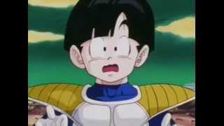 Goku se transforma em Super Saiyajin-Dublado