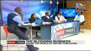 Are bloggers endangering businesses? The blogging business - Press Pass  Part 2