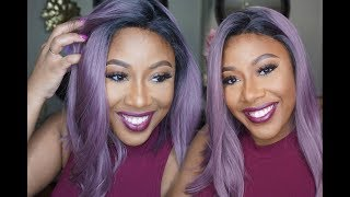 PERFECT PURPLE SUMMER SPRING BOB WIG | ReadyWig.com