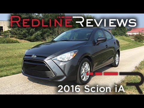 2016 Scion iA – Redline: Review
