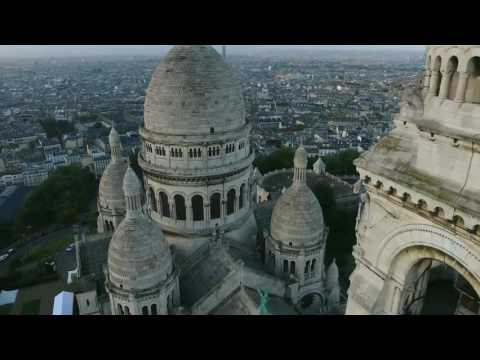 Базилика Сакре-Кёр - Монмартр - достопримечательности Парижа